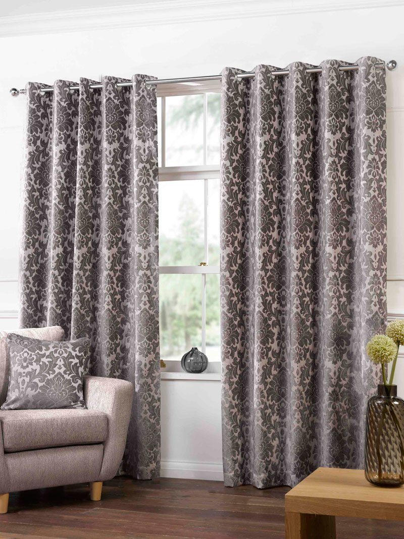 Gordon John Ready Made Curtains Camden Ready Made Lined Eyelet Curtains Latte