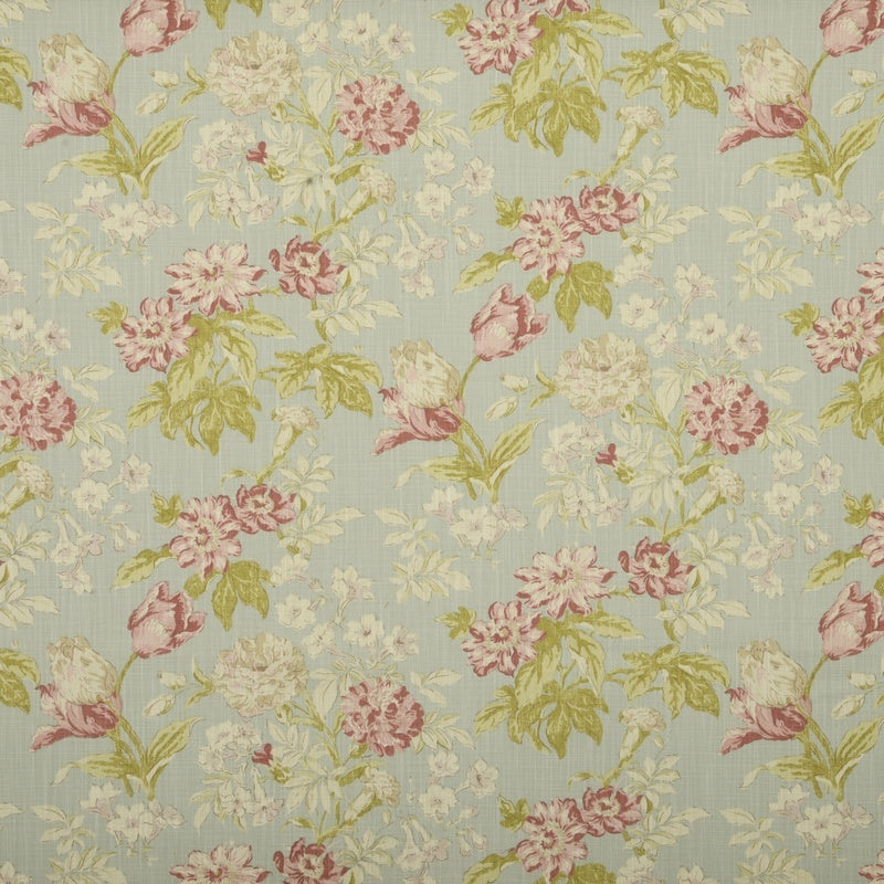 Fryetts Fabrics Campagna Curtain Fabric Duck-Egg Picture