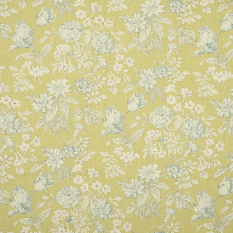 Image of Campagna Curtain Fabric Ochre