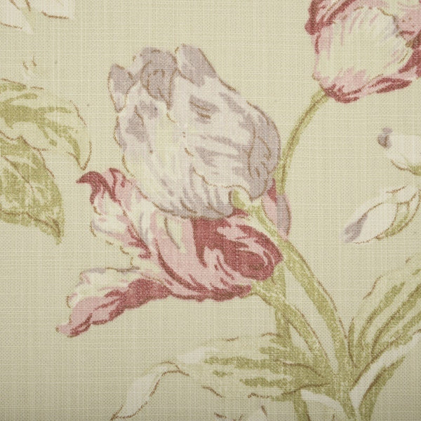 Campagna Curtain Fabric Rose