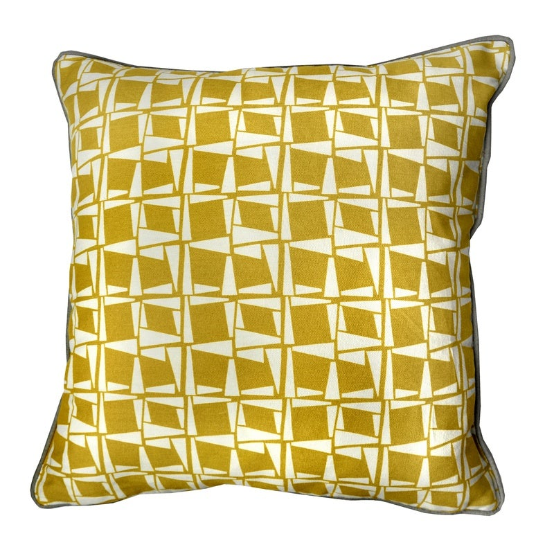 J Rosenthal Cushions And Throws Capella C/Cover Ochre Picture