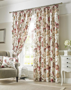 Carnaby Ready Made Curtains Chintz