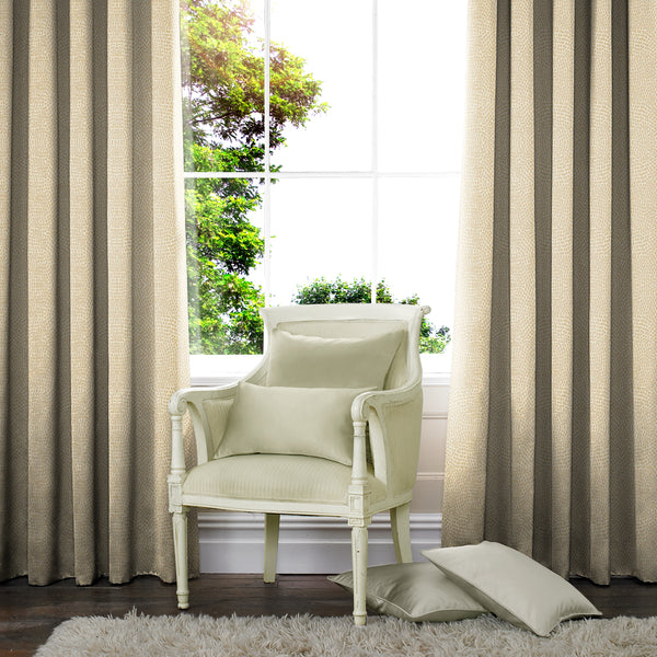 Tunis Made to Measure Curtains Champagne