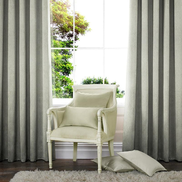 Waterfall Made to Measure Curtains Silver