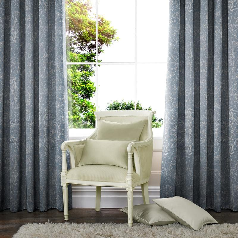 Illuminate Waterfall Made to Measure Curtains Sky Picture
