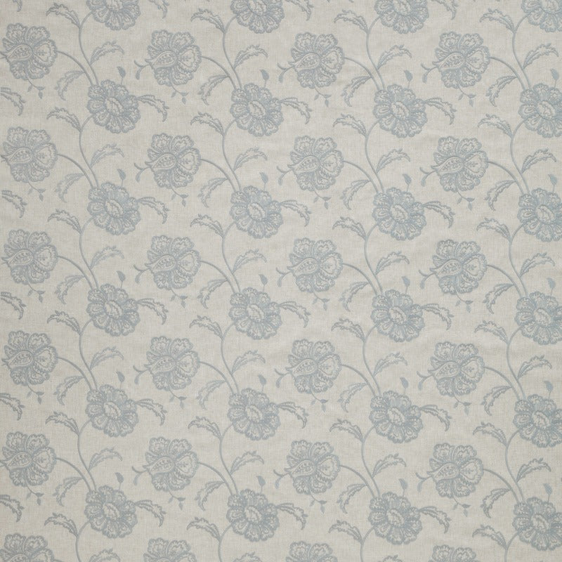 Image of Chantilly Curtain Fabric Wedgewood