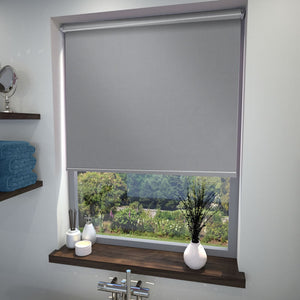 Chelsea Blackout Roller Blind Flint