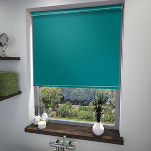 Chelsea Blackout Roller Blind Teal