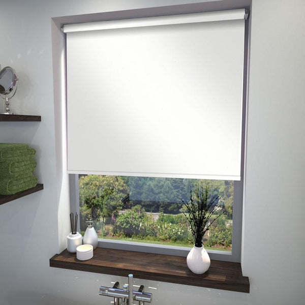 Chelsea Blackout Roller Blind White