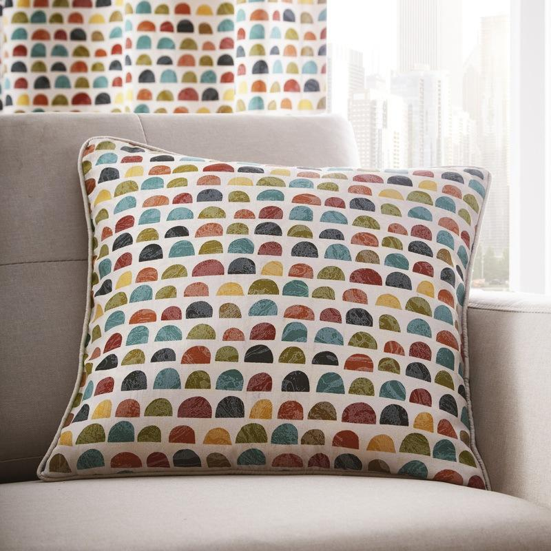 Portfolio Home Cushions and Throws Chicago C/Cover Multi Picture