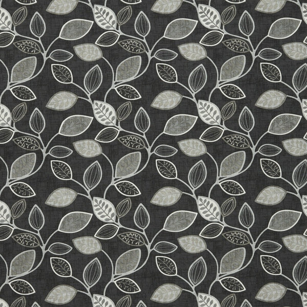 Chiswick Curtain Fabric Onyx