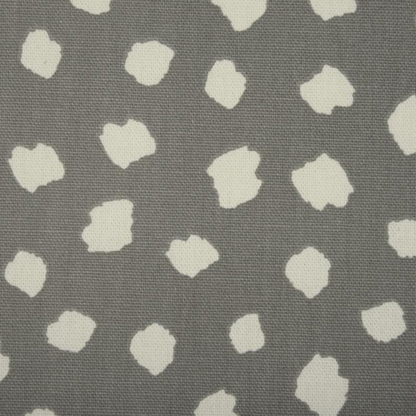 Clio Curtain Fabric Charcoal