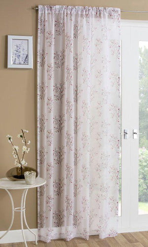Colorado Slot Top Voile Panel Berry