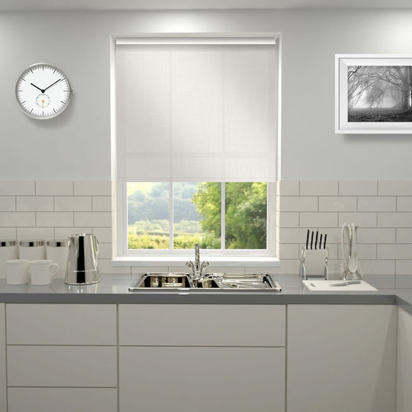 Comfort Sheer Plain Roller Blind Lace