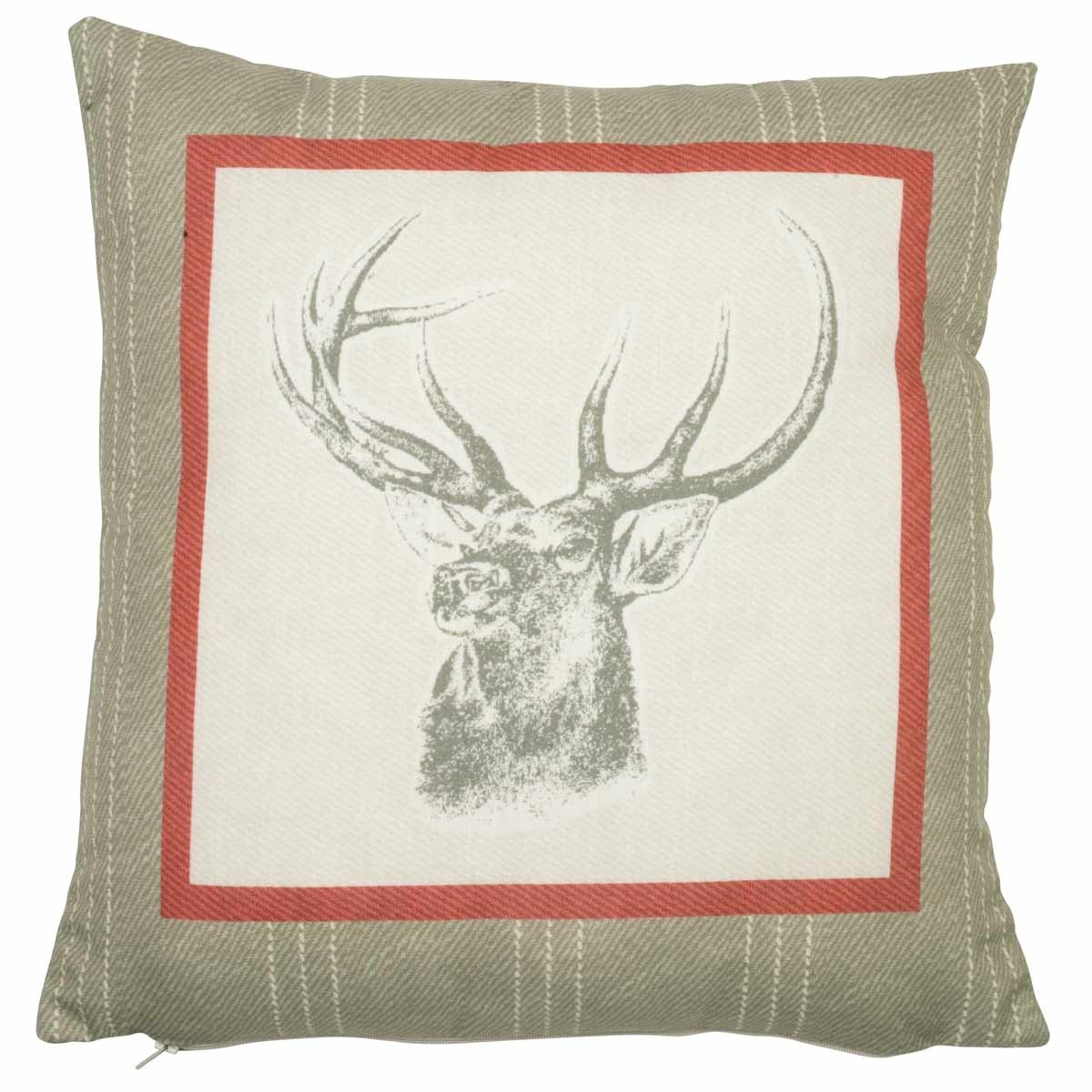 J Rosenthal Cushions And Throws Connolly Check  C/Cover Red Picture