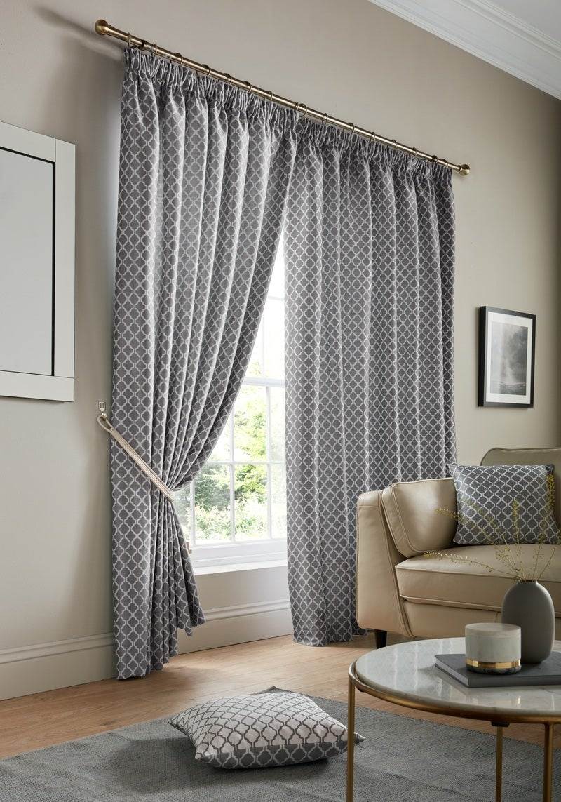 Alan Symonds Ready Made Curtains  Cotswold Ready Made Lined Curtains Latte