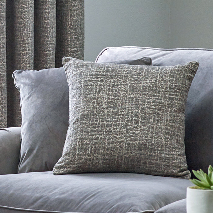 Belfields Cushions And Throws  Orion C/Cover Zinc