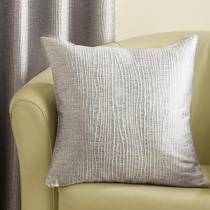 Belfields Cushions And Throws Twiggy Filled Cushion Graphite Picture