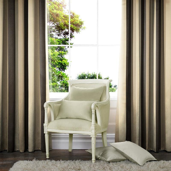 Hackney Made to Measure Curtains Ebony
