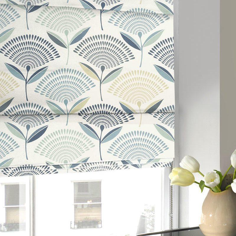 Gordon John Blinds Dandelion Roman Blind Colonial Picture