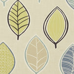 Coco Curtain Fabric Mineral