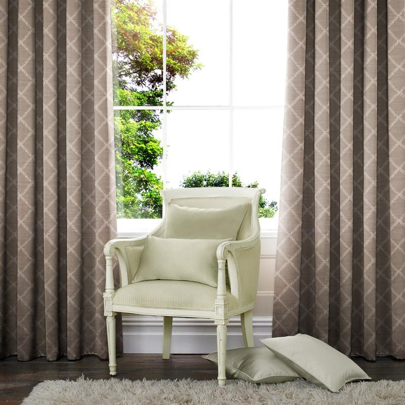Illuminate Leah Made to Measure Curtains Dove Picture