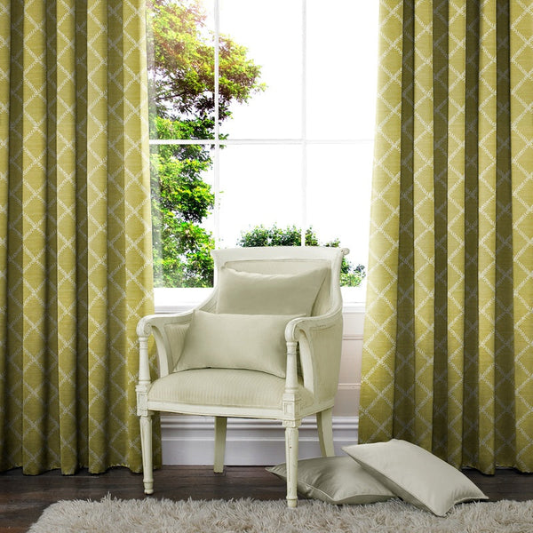 Leah Made to Measure Curtains Zest