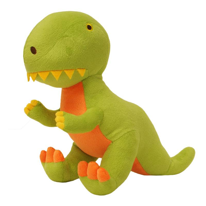 Riva Cushions And Throws Dinosaur Plush Toy Multi Picture