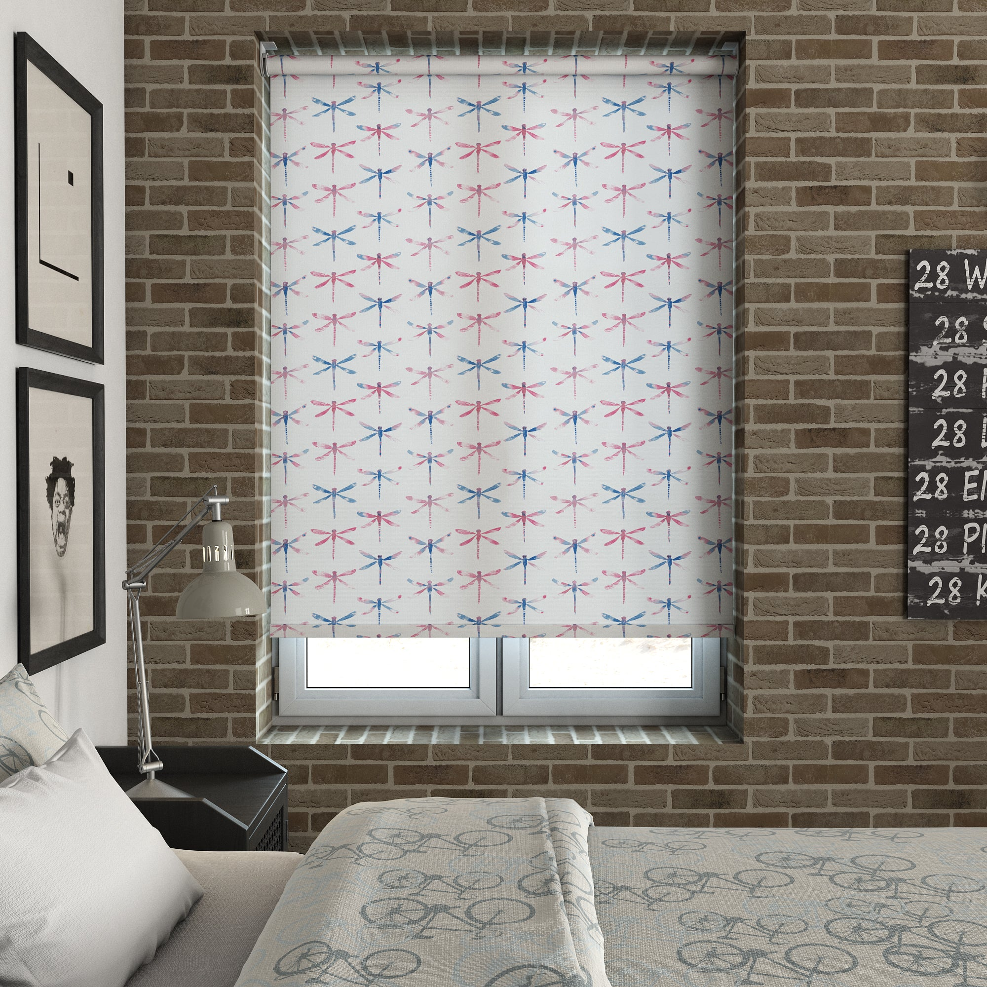 Harris Parts Blinds Dragonfly Roller Blind Anax Picture