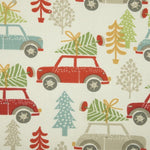 Driving Home Curtain Fabric Multi