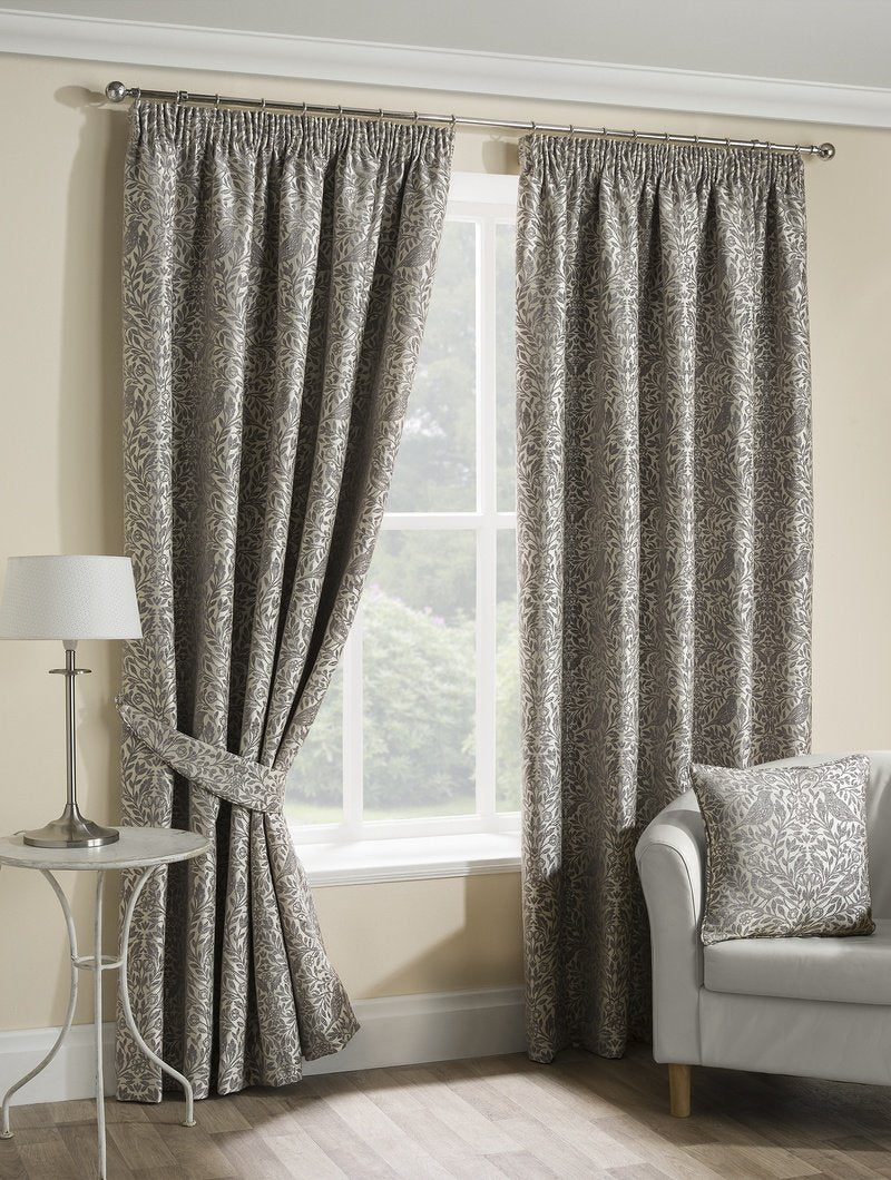 Belfields Ready Made Curtains  Eden Ready Made Lined Curtains Steeple Grey