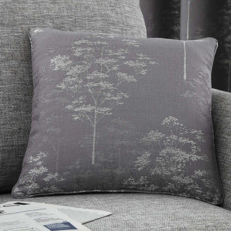 J Rosenthal Cushions And Throws Elmwood C/Cover Graphite Picture