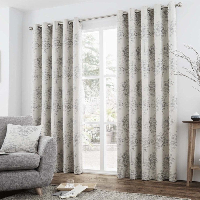 J Rosenthal Ready Made Curtains Elmwood Ready Made Lined Eyelet Curtains  ... Picture