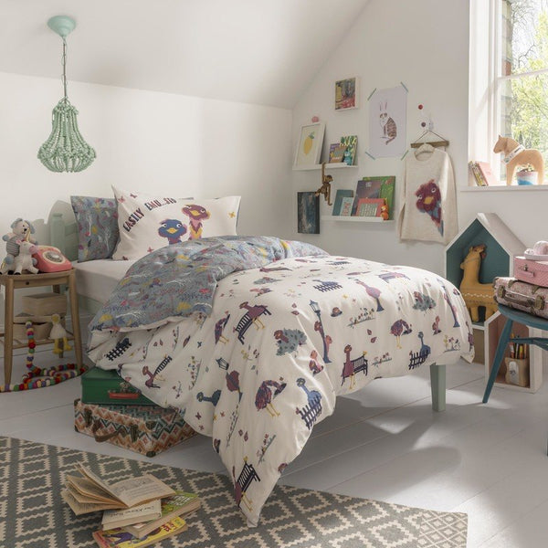 FatFace - Elsie Emu Childrens Bedding Collection Multi