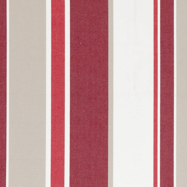 Hartford Curtain Fabric Crimson