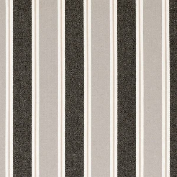 Stamford Curtain Fabric Charcoal