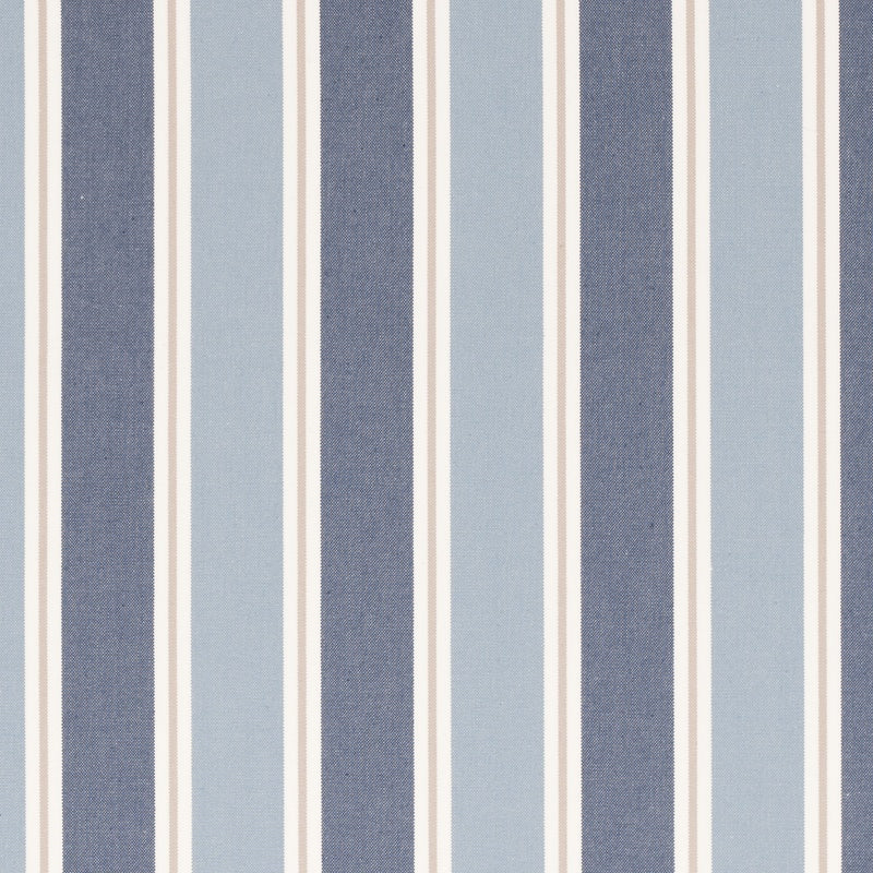 Clarke And Clarke Fabrics Stamford Curtain Fabric Denim Picture