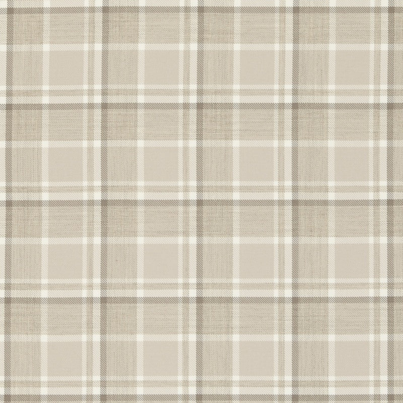 Clarke And Clarke Fabrics Bowland Curtain Fabric Natural Picture