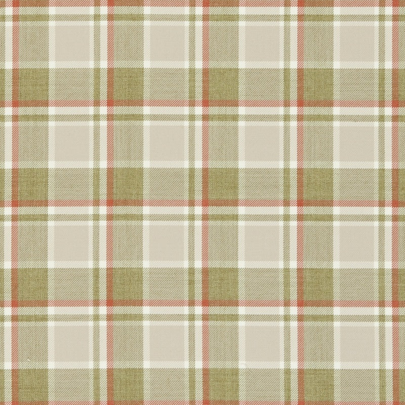 Clarke And Clarke Fabrics Bowland Curtain Fabric Spice Picture