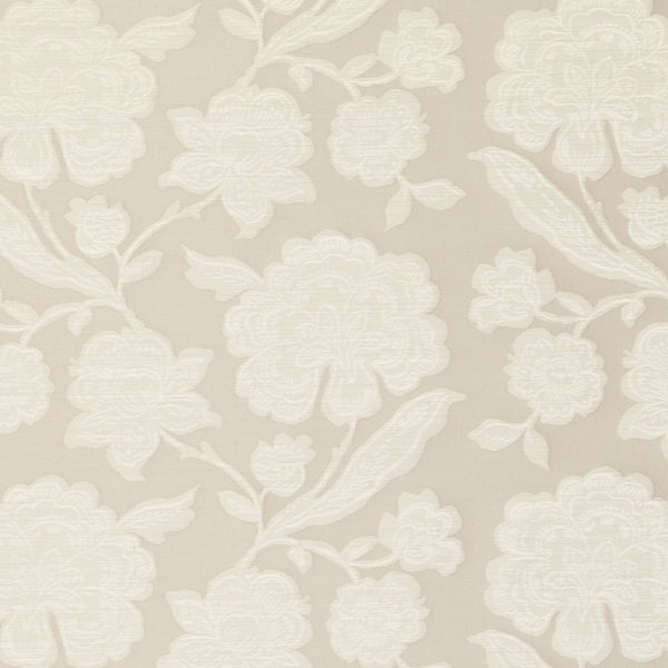 Downham Curtain Fabric Natural