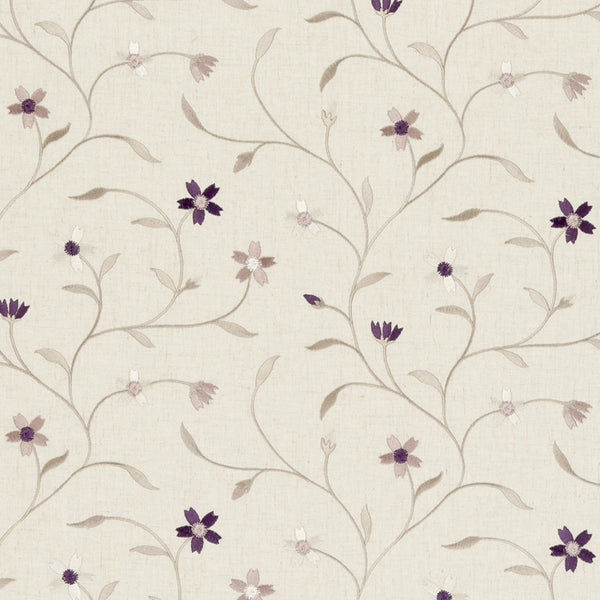 Mellor Curtain Fabric Heather