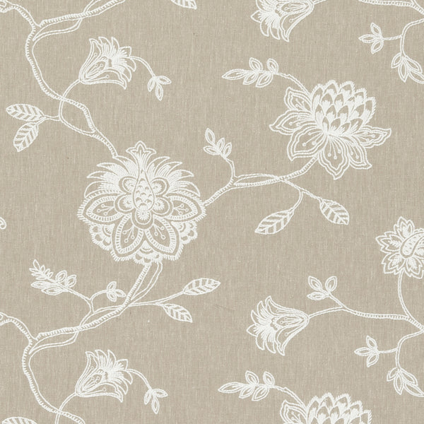 Whitewell Curtain Fabric Natural
