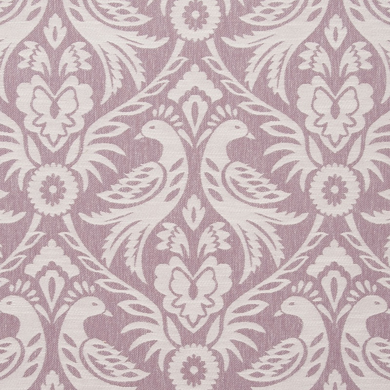 Clarke And Clarke Fabrics Harewood Curtain Fabric Orchid Picture