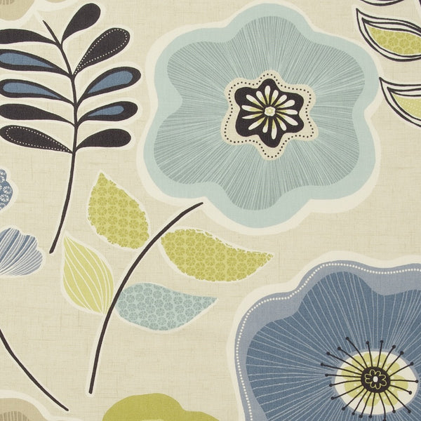 Calypso Curtain Fabric Mineral