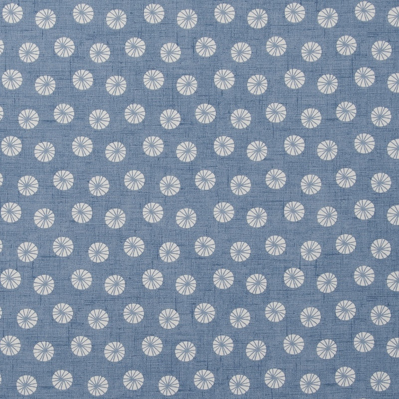 Clarke And Clarke Fabrics Daiquiri Curtain Fabric Denim Picture