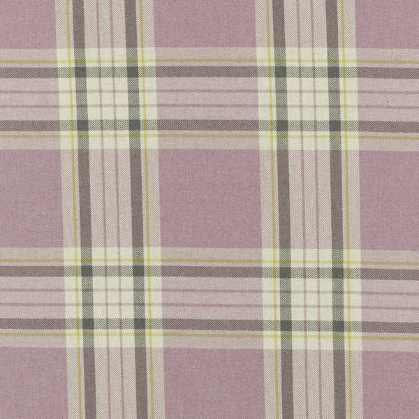 Glenmore Curtain Fabric Heather