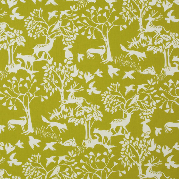 Vilda Curtain Fabric Chartreuse
