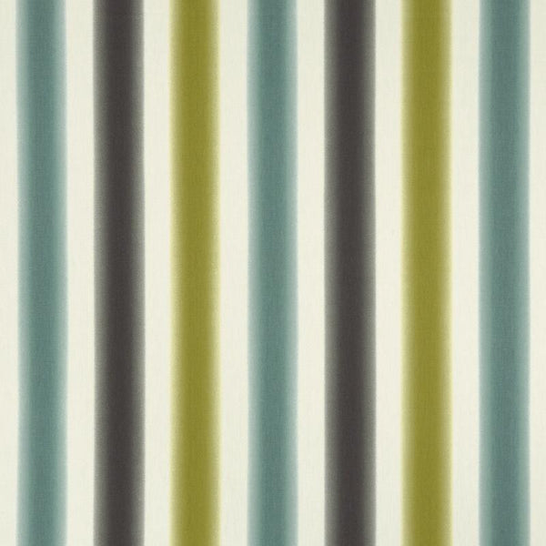 Amba Curtain Fabric Chartreuse / Charcoal