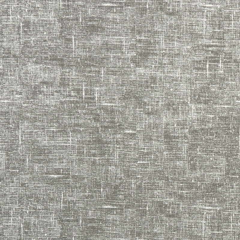Linum Print Curtain Fabric Charcoal
