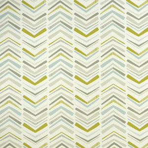 Chevron Curtain Fabric Mineral